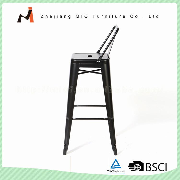 Высокое качество нового дизайна fashinal красочный дешевые металлические штабелируемые барный стул