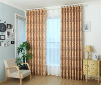 2015 Window Curtain, Ready Made Curtain, Jacquard Curtain Fabric