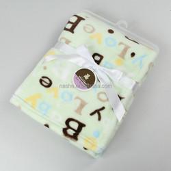 2015 NEW DESIGN BABY BLANKET/Baby blanket minky dot