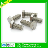 high strength bolts and Nuts stainless steel hex tower bolt