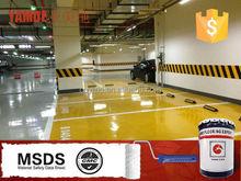 High quality epoxy paint self leveling epoxy flooring for garage floor