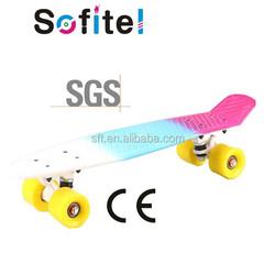 2015 New Design skate cruiser fish penny skateboard Professional