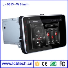 """Top Selling 8"""" Android 4.4 2 Din Universal Car DVD Player GPS navigation with Bluetooth USB Interfaces for Volkswagen"""