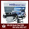 Best price slim hid kit h4 bixenon h/l beam xenon light hid driving light h4 h13 9004 9007 H/L Beam bi xenon 35w/55w