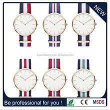 Alibaba Express men women brand watch, fabric daniel wellington watches