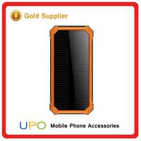 Portable Solar Power Bank 10000mah high capacity power bank, battery charger for Mobile phone /pad/camera