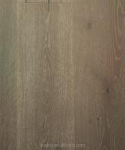 gray natural oak multi-layer hardwood Wood Flooring for 4mm veneer saw cut