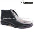 Hot venda preto lace up inverno boot para o homem z1031-40-5