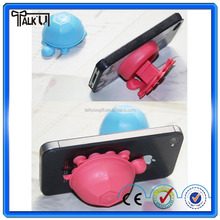 Popular tortoise shape mobile phone accessories display stand/creative design cartoon phone holder/phone anti-theft holder