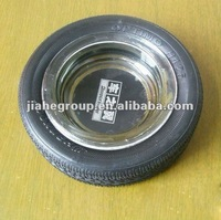 tyre ashtray, tyre shape ashtray ,ashtray tyre