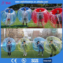 New Popular PVC and TPU bubble football / human bubble ball for football