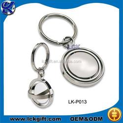 Make your own logo metal key chain, floating key chain