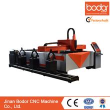 tube and sheet metal fiber laser cutting machine / cnc 1000w laser cutter /laser machine cutting metals