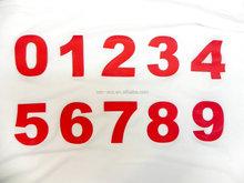 carta numero di trasferimento di calore lettera di stampa per il calcio abbigliamento
