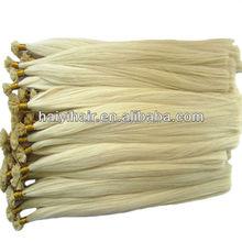 2015 New Style Natural Looking Silky Virgin Blonde Hair