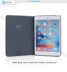 2016 new products 360 full around protective pu tablet book case for ipad mini 4
