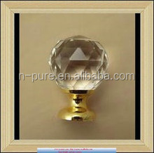 Crystal Glass Konb Factory Crystal Knob Glass Alloy Door Drawer Cabinet Wardrobe Pull Handle Knobs