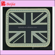 Custom pvc Flag Patch for cloth