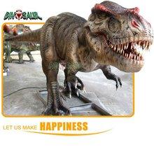 Equipo del parque de atracciones - dinosaurios animatronic modelo