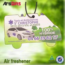 Deft design absorbent scented paper sachet air freshener