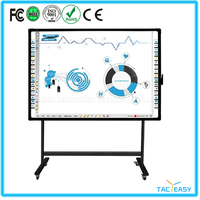 Aluminum framed electronic smart board smart whiteboard with competitive price