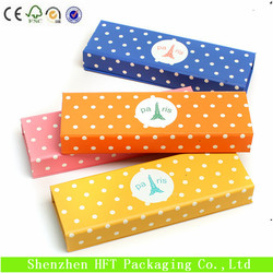 Hot selling paper cardboard pencil box manufacturers