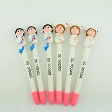 Crazy Selling Clay Nurse Pen Promotional Pen Custom Logo Available logo ballpoint pen