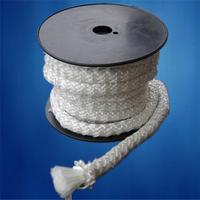 Glass fiber lagging seal rope