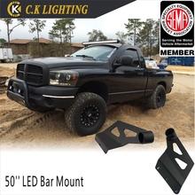 LED light bar mount brackets/2015 hot new car led lighting accessories/50'' Led bar barcket for Dodge Ram