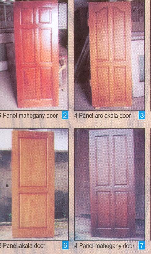 Finished wooden flush doors panel doors and solid core for Solid flush door