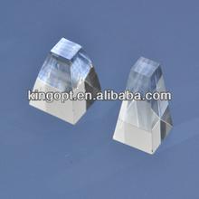 Vidrio óptico bk 7, k9 solar prisma