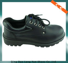 black color action leather safety shoes made in china safety work shoes