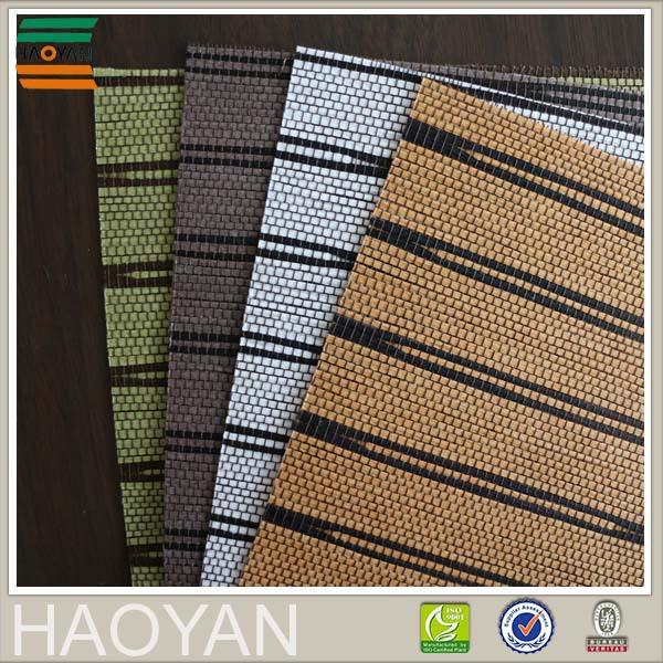 <span class=keywords><strong>Haoyan</strong></span> тканые окружающей среды бумаги ткани рольставни