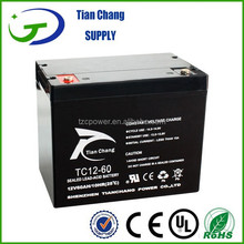 12V 60Ah Lead Acid SLA VRLA Gel Solar PV UPS Battery