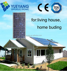 manufacture in china solar panel for amorphous silicon thin film solar panel