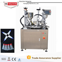 Automatic Filling and Sealing Machine for Various Plastic Tubes and Aluminum Composite Tubes