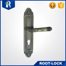 zinc alloy handle zinc mortise handles door handle zinc