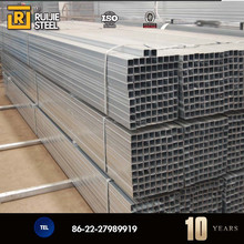 Q195 Pre galvanized square GI steel pipe for fence post