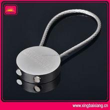 custom wholesale promotional blank metal keyring