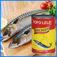 425g canned seafood canned mackerel