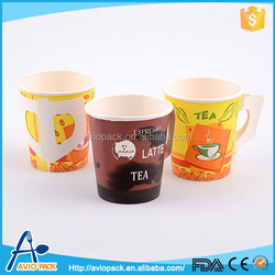 Hot selling aircraft multi color disposable paper cups for hot drinks