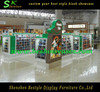New glass dislay kiosk for hat accessories kiosk,head up shopping mall kiosk for hat jewelry selling