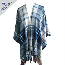 Hot sales cheap fashionable new style pashmina ponchos