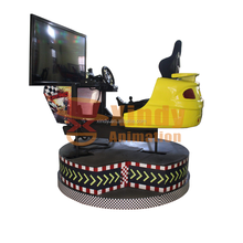 The newest products of car racing game machine simulator