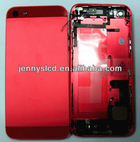 Original housing for IPhone 5 back cover with small parts Red