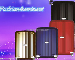 Hot New model Ttolley luggage/Travelmate suitcase/PP Lock luggage bag