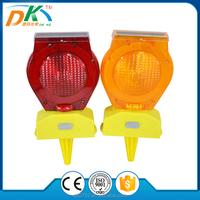 PC LED Solar Powered Traffic Barricade Warning signal light,construction,traffic light manufacturer