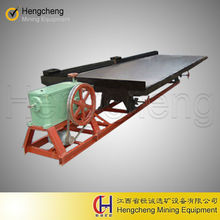 6S vibration shaker table for final gold separation