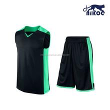 best basketball uniform design color black