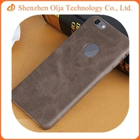 New solid PU leather cover ultrathin phone back shell case for iPhone 5s